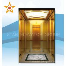 Luxuoso elevador de passageiros qualificados para ritzy rummery