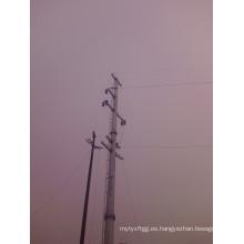 Poste de acero de transmisión de energía eléctrica barata y de buena calidad