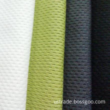100% polyester dry fit mesh fabric for sports