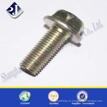 Tornillo hexagonal de acero inoxidable A2 A4 M12