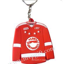 Porte-clés en plastique pour cadeau promotionnel (m-PK01)