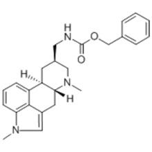 Name: Carbamic acid, N-[[(8β)-1,6-dimethylergolin-8-yl]methyl]-,phenylmethyl ester CAS 17692-51-2