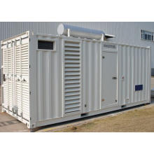 1000kw/1250kVA Containerized Silent Diesel Generator with Perkins Engine