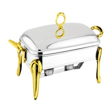 Rectangle Chafing Dish with Steel Lid