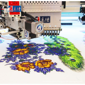 industrial 20 head 6 needle  tajima computerized sequin embroidery machine