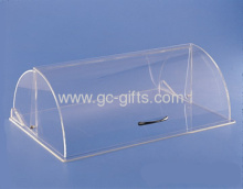 Clear Acrylic Dome Food Display Cabinet