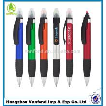 venda quente presentes relativos à promoção 2 em 1 caneta marca-texto da fábrica