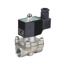 Marca KLQD 1/2 pulgada 12V 24V DC voltaje magnético magnética válvula de solenoide para el agua de aire ZBV modelo