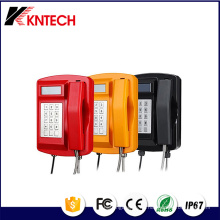 Teléfono resistente a la intemperie teléfono VoIP Knsp-18LCD de Kntech