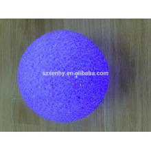 Cor de mudança de bateria levou bolas de luz Para decoração de exibição de janela
