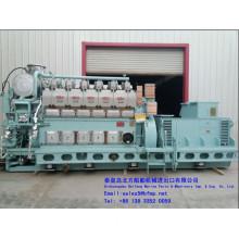 STX MAN 6L 23/30 H marine generator set