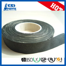 Fireproof black fabric cotton insulation tape