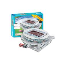 Hot 105PCS UK Stadium 3D Puzzle Game