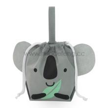A Grey Non-woven Koala Party Handle Packing Bag