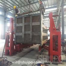 La dernière chaîne de haute qualité Type Turning-Over Machine pour remorque semi-remorque et camion à benne basculante