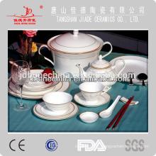 USA estilo ruso café té espresso conjunto taza y plato cena conjunto de cerámica melamina vajilla conjunto
