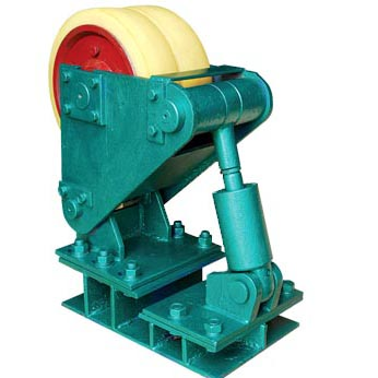Cage Roller Mine Cage Buffer Wheel Bracket