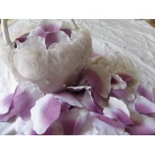 Promotion Hochzeit Bevorzugungen für Blütenblatt / Fabrik Preis Beliebte Silk Rose Blütenblatt Dekoration