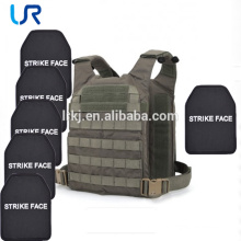 Multi-curve 9mm Kevlar Aramid Level NIJ IIIA 0101.06 Ballistic Plate