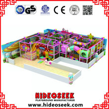 Candy Theme Indoor Playground con nivel de alta calidad