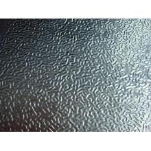 Folhas / bobinas de alumínio em relevo em estuque usadas na geladeira