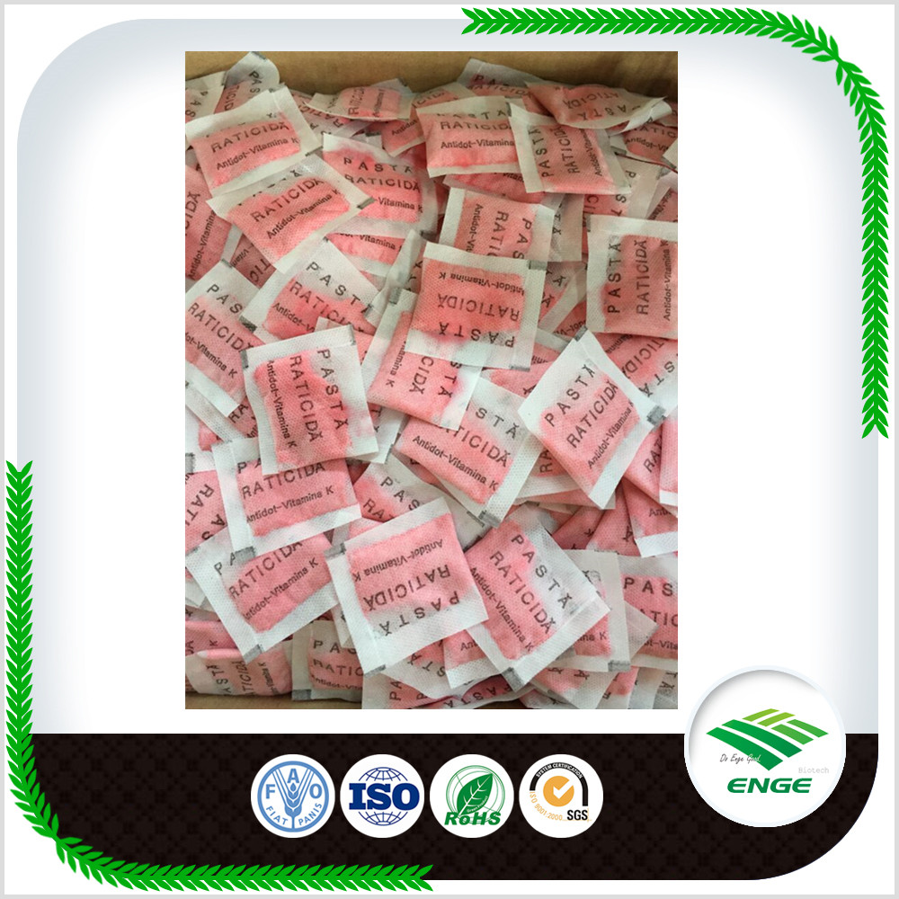 Chemical pesticide Bromadiolone 0.005% Pasta in Rodenticide