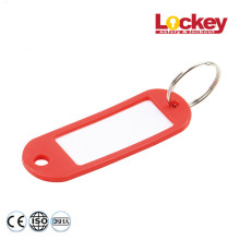 Key Tag Key Chain for Safety Padlock
