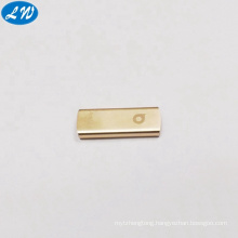 China factory supply OEM CNC milling part CNC USB flash disk enclosure with color anodizing