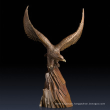 Online home decor collectible statues art bronze eagle statues for sale