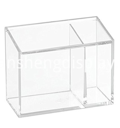 Acrylic Cosmetic Organizer Box with Lid