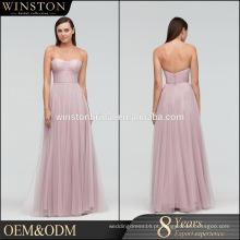 Novos vestidos de noite luxuosos de alta qualidade por atacado