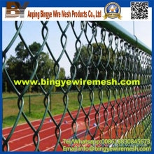 PVC Coated Chain Link Fence China Factory