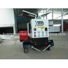 Pk30080 портативного передвижного трейлера Тепловозный Молчком Звукоизоляционный генератор серии