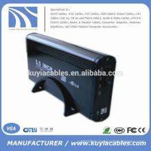 Aluminiumlegierung USB 2.0 SATA 3.5inch externe Festplatte / HDD Gehäuse
