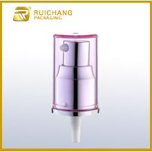 Pompe de lotion cosmétique en aluminium