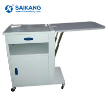 SKS056 Metal Useful Medical Hospital Bedside Medicine Cabinet