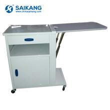 Armário de medicina médico útil da cabeceira do hospital do metal SKS056