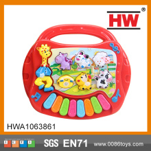 Funny Plastic Kids Animal Shaped Keyboard Kindergarten Toys