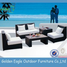 Rattan ao ar livre / Wcker Furniture Sofa Set