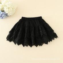 Enfants sur-slae vêtements jupes filles jupes d'été dentelle bonne qualité styles de mode en gros dans le prix pas cher