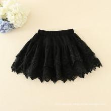 Crianças on-slae roupas saias meninas verão saias rendas boa qualidade estilos de moda por atacado no preço barato