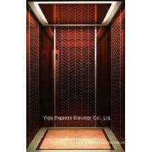 Розовое золото Зеркало из нержавеющей стали Главная Лифт