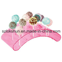 Shenzhen Factory Sales Acrylic Lollipop Display Stand