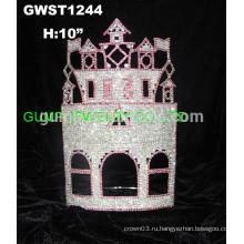 Сплошная коронка замка