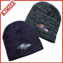 Зимняя мода Marled трикотажная шапка