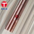 Heat Exchanger Seamless Copper Low Fin Tube B75