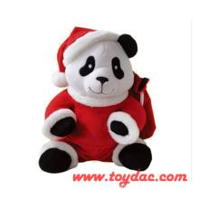 Plush Christmas Panda