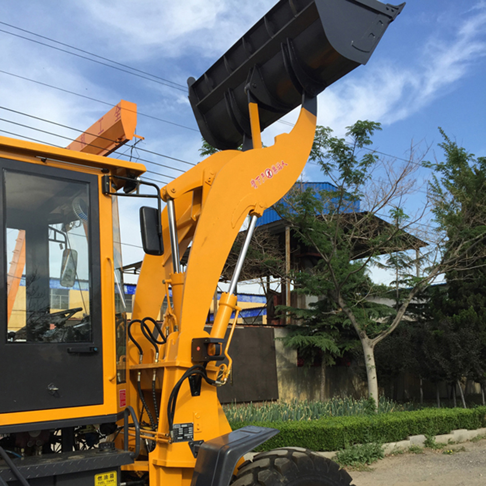 Hydraulic Backhoe Loader
