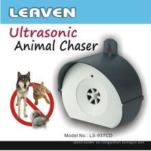 Protección de 24 horas Cazador ultrasónico de animales de jardín
