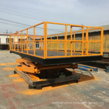 Mobile Scissor Lift Car Hoist / stationary lift work table